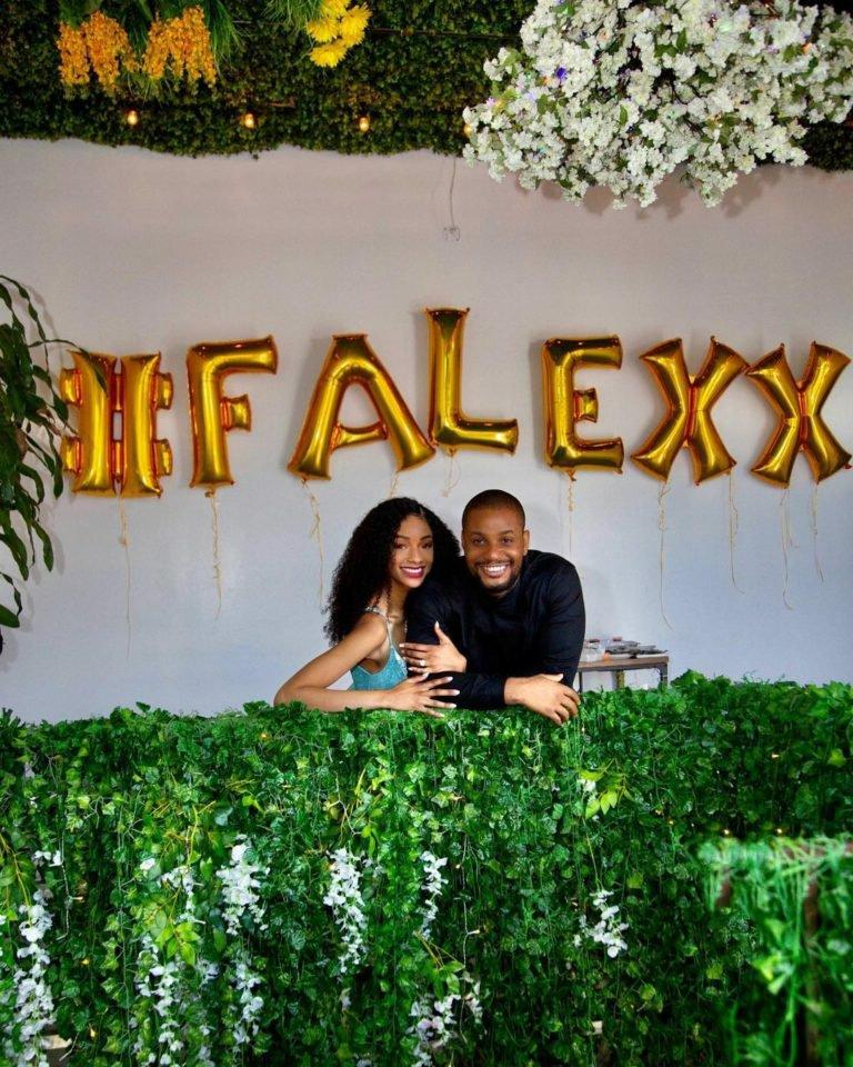 Alexx Ekubo Engaged His Longtime Love, Fancy Acholonu And She Said Yes!!